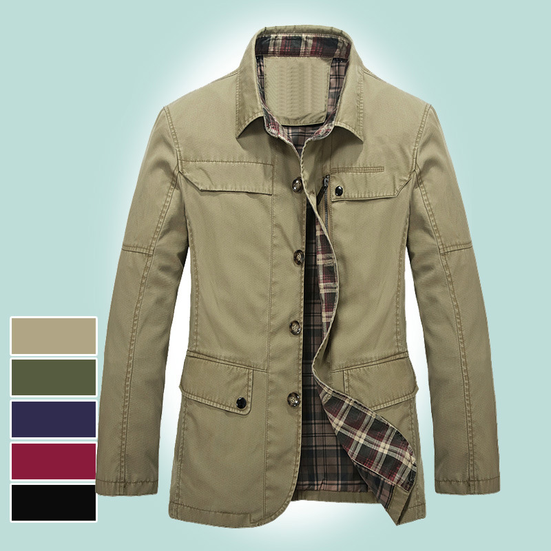 8XL <font><b>7XL</b></font> 6XL 5XL 4XL Big Size Men Jacket Long Sleeve Casual Jacket Workwear <font><b>Coat</b></font> Men's Outdoor Mens <font><b>Coats</b></font> and Jackets Windbreaker image