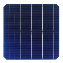 100Pcs 5.35W 0.5V 21.8% Effciency Grade A 156 * 156MM Photovoltaic Mono Monocrystalline Silicon Solar Cell 6x6 For Solar Panel