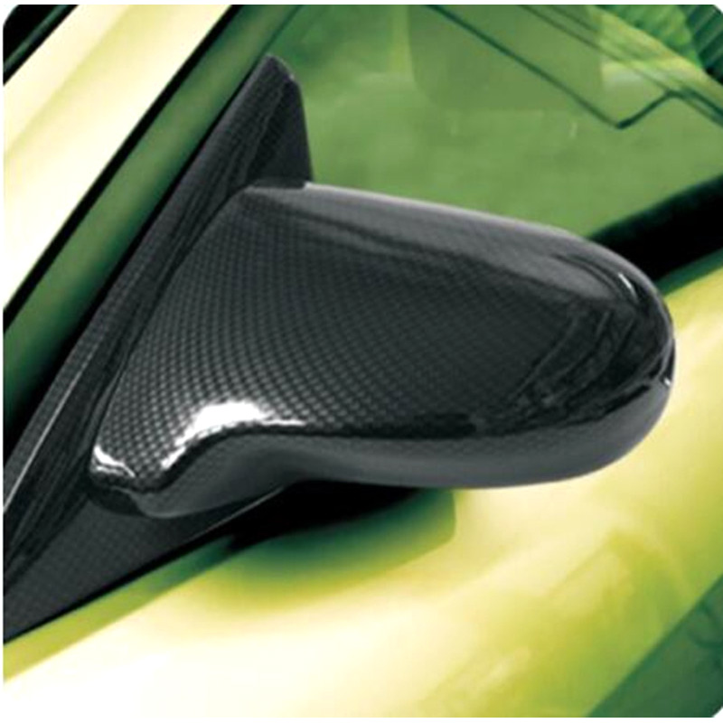 Image 5 - FIT FOR HONDA FOR  CIVIC EK EG SPOON SIDE MIRROR CARBON FIBER LOOK 4 DOOR MOD DIY WIRA SATRIA Set-in Mirror & Covers from Automobiles & Motorcycles