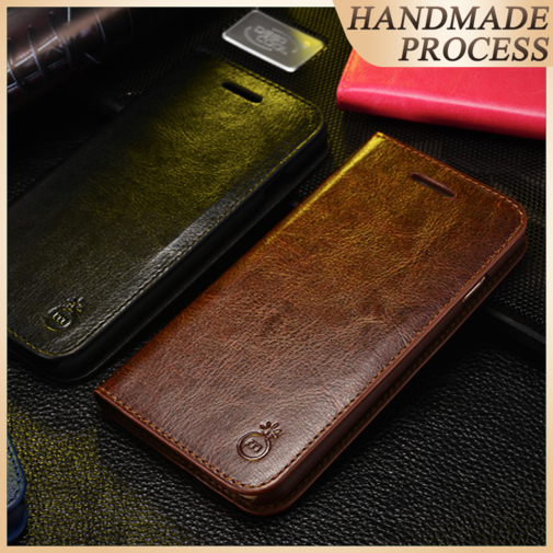 Musubo Luxury Leather Wallet Cases Cover För iPhone Xs Max X XR 7 Plus 6 Plus 6s 5 Flip Stand Case för iphone 8 plus korthållare