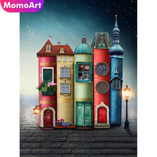 MomoArt Diamond Painting Cartoon Mosaic Book Embroidery  Full Square Rhinestone Handwork Home Decoration