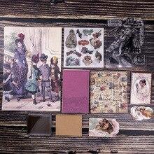 5set Kawaii 편지지 스티커 Vijay 손으로 만든 일기 플래너 장식 모바일 스티커 Scrapbooking DIY 공예 스티커