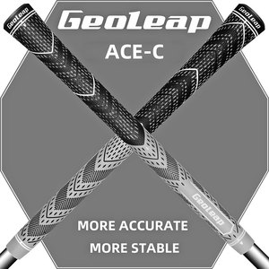 Geoleap 2019 new Golf Grips Multi Compound Cord Rubber Golf Club Grips 10pcs/lot standard 8 colors free shipping