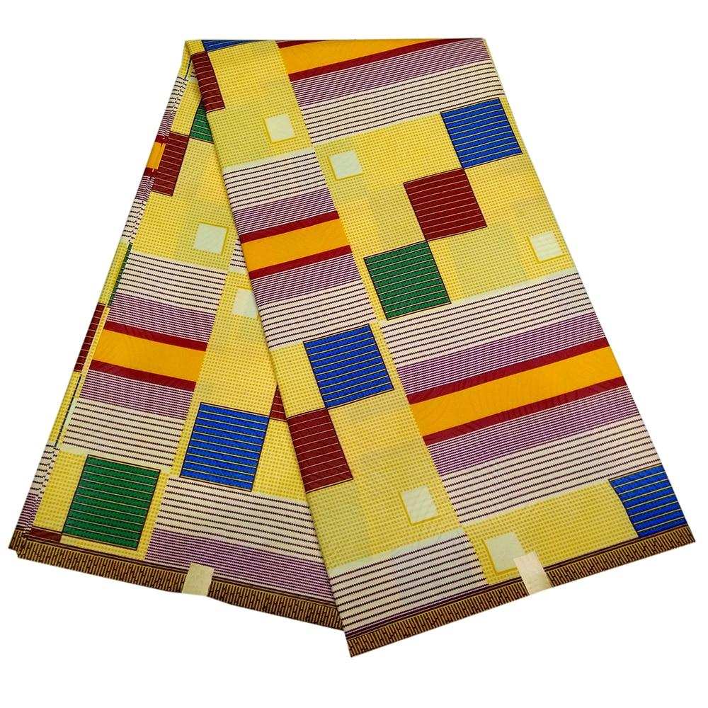 Ankara Goths Design Dutch Wax Textiles High Quality 2019 New African DIY Fabric For Lady 6yards