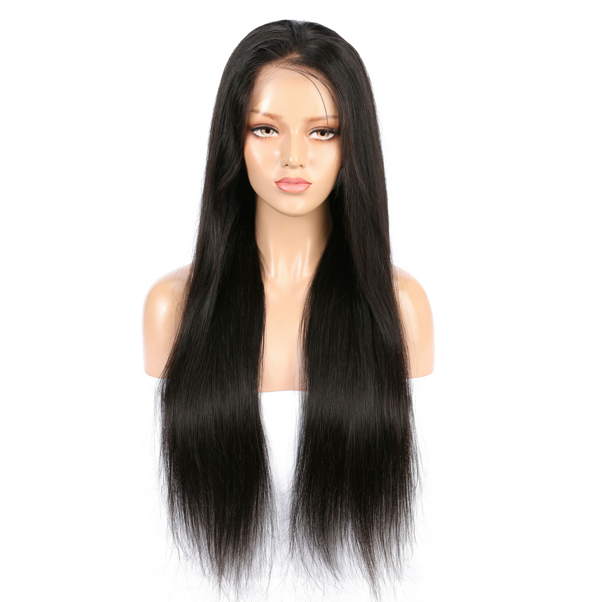 9A 13x4 Silky Straight Lace Front Human Hair Wigs For Black Women Remy Brazilian Hair Wig 10-24 Inch Available