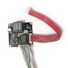 Placa esperta 48v do pwb do módulo do cctv do ponto de entrada potência sobre a saída de ethernet 12v ieee802.3af/at para a câmera do ip com cabo do ponto de entrada