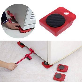 Moves Furniture Tool Transport Shifter Moving Wheel Slider Remover Roller Heavy