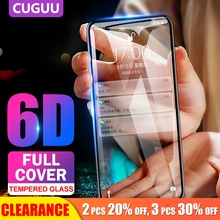 [Clearance] For iPhone XS Max XR 6D Tempered Glass Protective Film 6S 7 8 Plus Screen Protector Full Cover