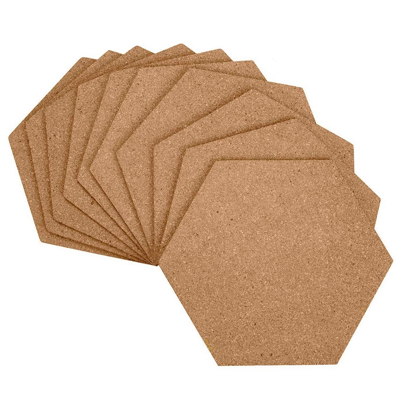7 Cork Boards Filled with Sticky Backboards, Mini Wall Bulletin Boards, Pinboards-Pictures, Photos, Notes, Goals, Paintings, Pai
