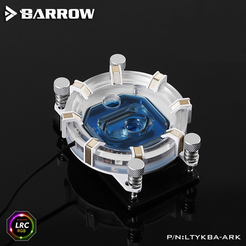 Barrow LTYKBA-ARK for AM4/AM3 LRC RGB v2 Aurora Limited Edition CPU waterblock 0.4MM microcutting micro waterway image