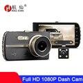 1080P FHD 4 дюймовый Dash камера Видеорегистраторы для автомобилей заднего вида камера автомобильный видеомагнитофон видеорегист автомобиля кам...