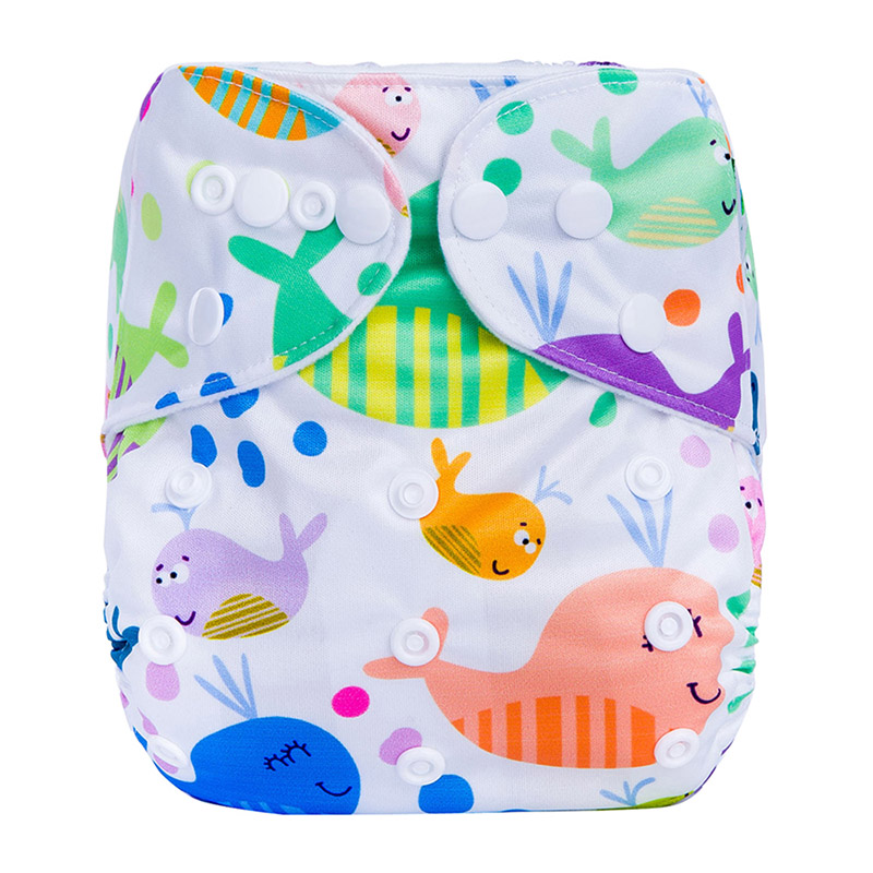 Reusable Cotton Baby Diapers Pants Washable Pant Style Plastic Cloth Diaper China Cloth Nappies F2