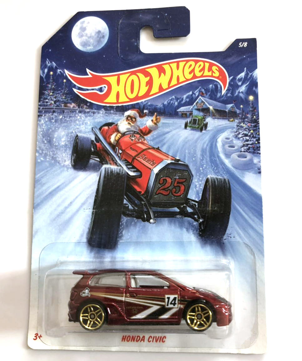 Hot Wheels 1:64 Car HONDA CIVIC Collection Metal Diecast Model Car Kids Toys Gift