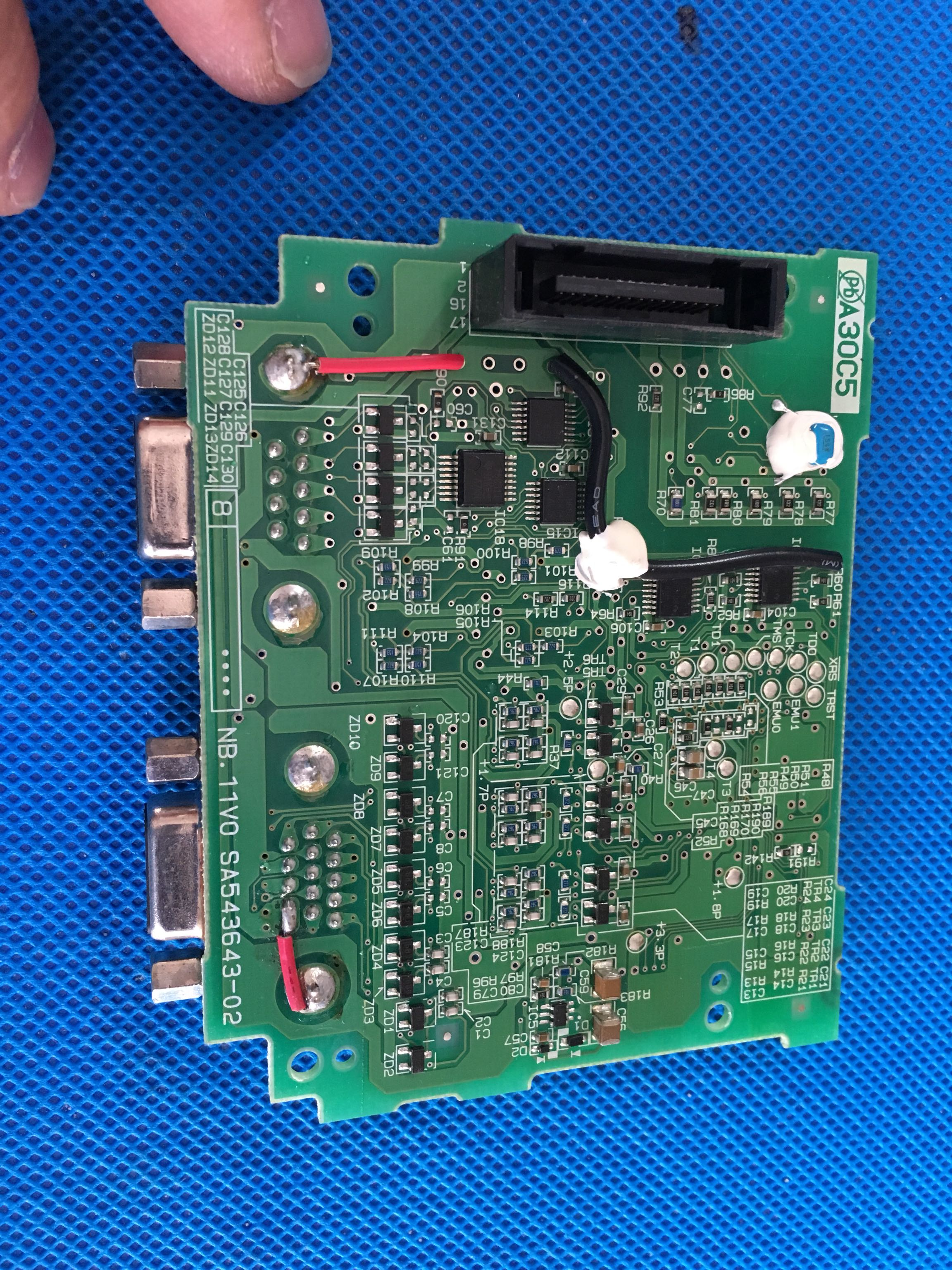 Used Non-new SA543643-02 And OPC-LM1-PR1 And PA1 Fuji Inverter Synchronous Control Card PG Card