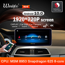 Android 10รถวิทยุSnapdragon 4G 64G 8COREสำหรับMercedes Benz C Class C Class W204 s204 2011 2014 Auto Audioสเตอริโอนำทาง
