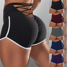 Spandex Shorts Lace Booty Mini High-Waist Women Print Ladies Hot Skinny