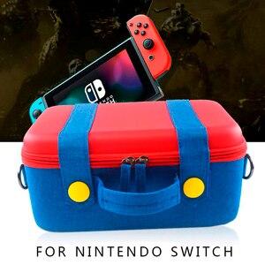 Image 2 - EVA Lagerung Box für Nintendo Schalter Tragetasche Spiel Konsole NS Host Zubehör Pack Nintend Schalter Zubehör Joycon Fall