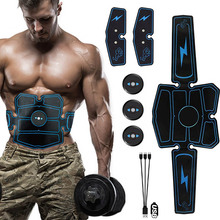 Vibration Fitness Massager Slimming Belt Abdominal Muscle Stimulator Toner EMS T