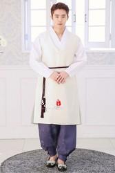 Importado de Corea del coreano ropa de tela de novia de boda coreano ropa de Hombre Ropa coreana a medida + envío gratis