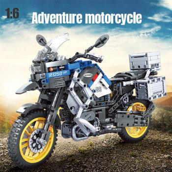 High-Tech Motorcycle Car Model  2