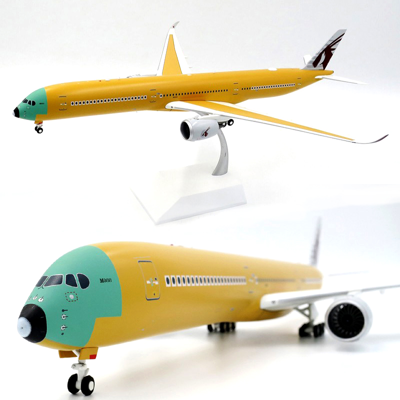 Fine  Lh2089 1 / 200 Qatar A350-1000 F-wznr  Airliner Model  Alloy Collection Model