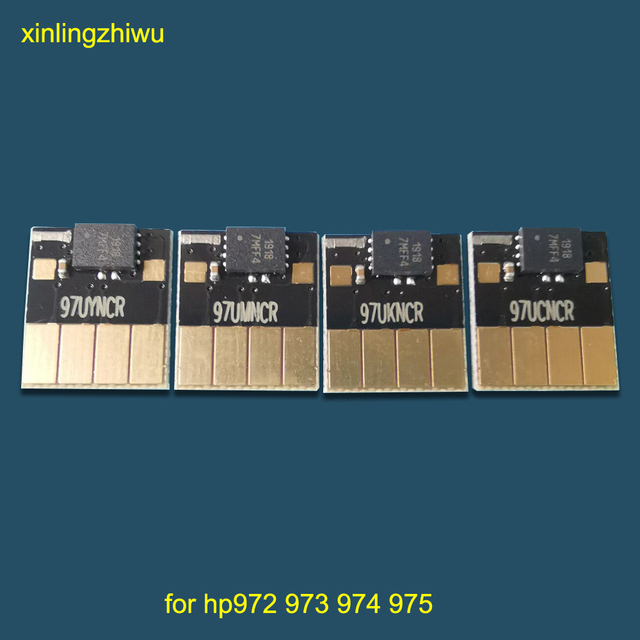 for hp 973 973xl ARC chip for HP 973 cartridge compatible chip for HP PageWide 352dw 377dw 452dw 477dw 552dw 577dw ink tank