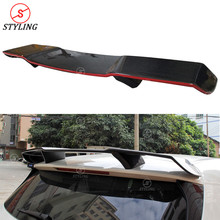 W176 Carbon Fiber Spoiler with red line For Mercedes-benz A45 AMG Rear Trunk Wing R style 2013- 2015 2016 2017 2018 2019