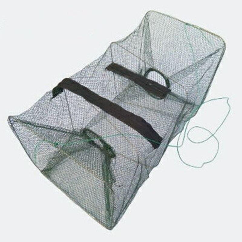 Fish Net Design Copper Spring Shoal Netting Fishing Lure Cast 21*22*50cm Net Fishing Small Mesh Net  K8356 Wholesale