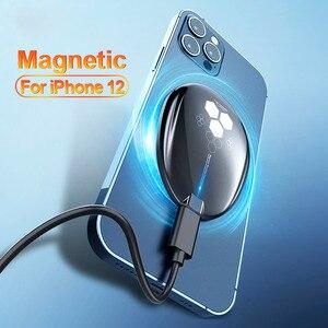 Image 1 - Essager – chargeur sans fil magnétique Qi 15W, pour iPhone 12 Pro Xs Max X, chargeur à Induction, charge rapide sans fil pour téléphone