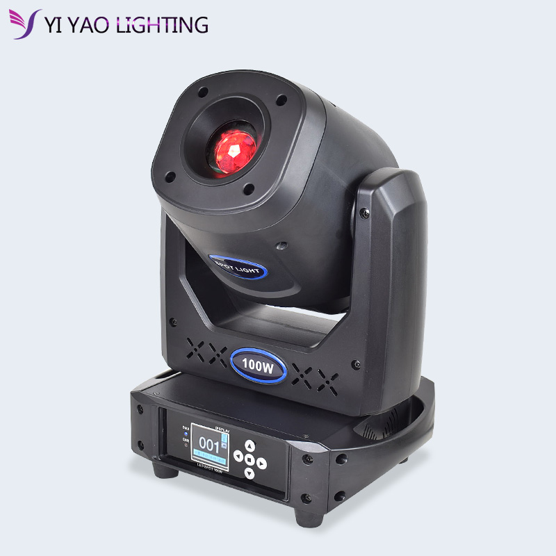 Moving Head Spot Light 100w Gobo Lights 90w Powerful Gobo Stage Effect Lighting For Dj Bar Wedding Event