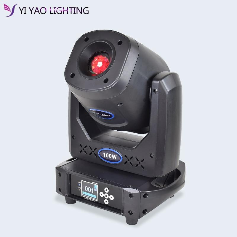 Moving Head Spot Light 100w Gobo Lights 90w Powerful Gobo Stage Effect Lighting For Dj Bar Wedding Event