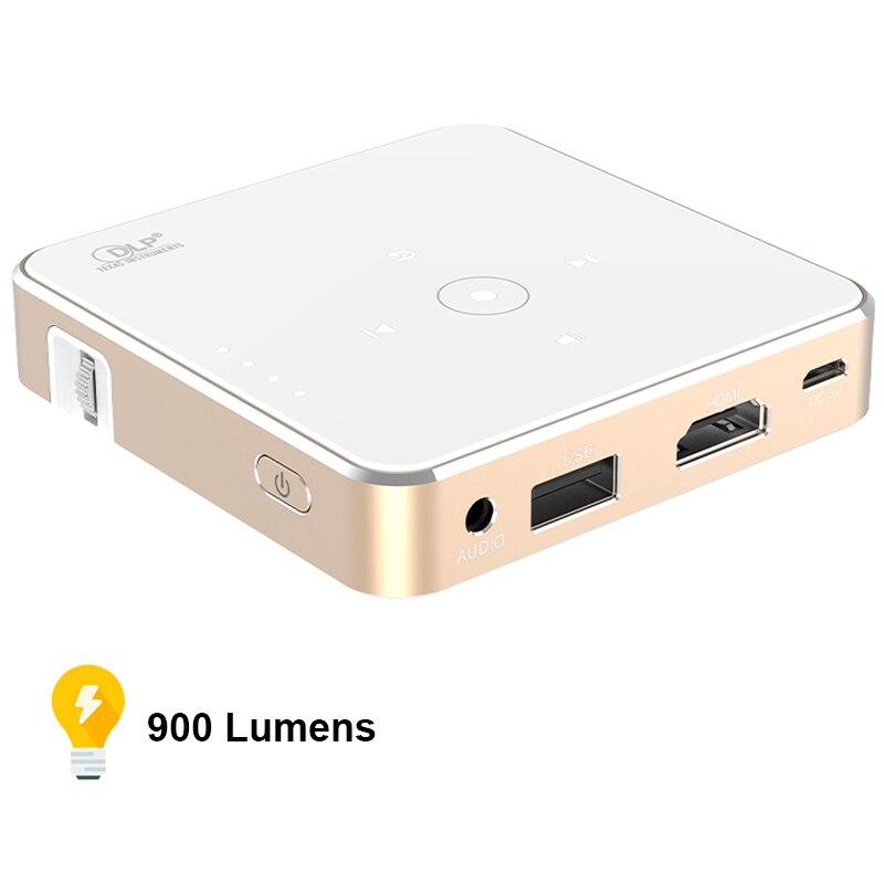 Мини портативный проектор Full HD 1080P DLP проектор для домашнего кинотеатра видео проекторы Beamer PR57002
