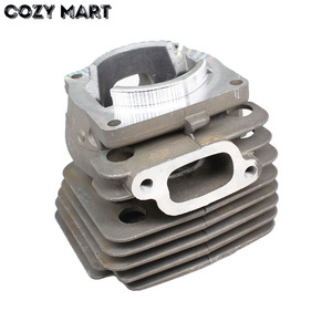 Image 4 - 47mm Cylinder Piston Kit For Hus 359 357XP 357 XP EPA Chainsaw Nikasil Coated Big Bore Decompression Port Spare Part