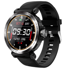 Men Sports Smart Watch S18 1.28 inch Full Screen Touch IP68 Waterproof With Clock Heart Rate Monitor Smartwatch For IOS Android c5 smart watch mtk2502 heart rate monitor sports clock smartwatch waterproof relogio support sim card for ios android pk amazfit
