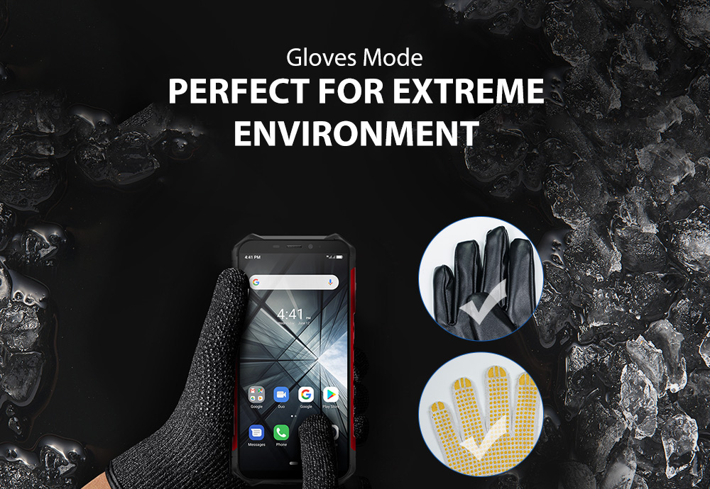 """H9ce0d508a2b446eab6efece2fbb8e6a0t Ulefone Armor X3 Rugged Smartphone Android 9.0 IP68 Android 5.5"""" 2GB 32GB 5000mAh 3G Rugged Cell Phone Mobile Phone Android"""