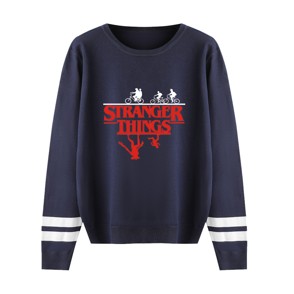 Stranger Things Sweater Men/women Aikooki Autumn Winter Hot Fashion Long Sleeve Warm Outwear Knitted O-neck Sweater Casual Tops