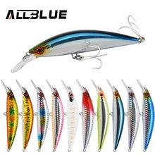 Allblue Zware Gewicht Minnow 90Mm/110Mm Sinking Jerkbait Longcast Vissen Lokken Zoutwater Bass Plastic Kunstmatige Aas visgerei