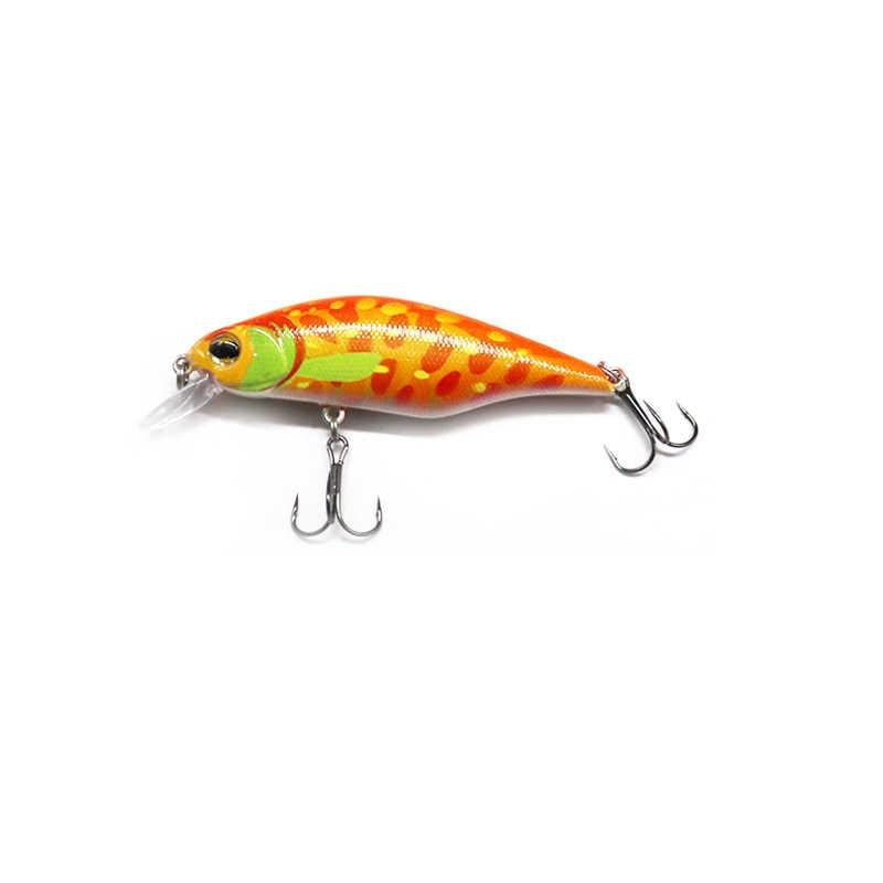 Señuelo de pesca flotador wobblers Minnow 8,5 cm 13,3g Crankbait plástico Artificial duro cebos Japón trucha Swimbait Luke