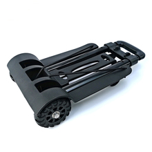 Hand-Truck Oversized Folding Cart for Luggage with Wheels Bonus Bungee-Cord Travel Travel