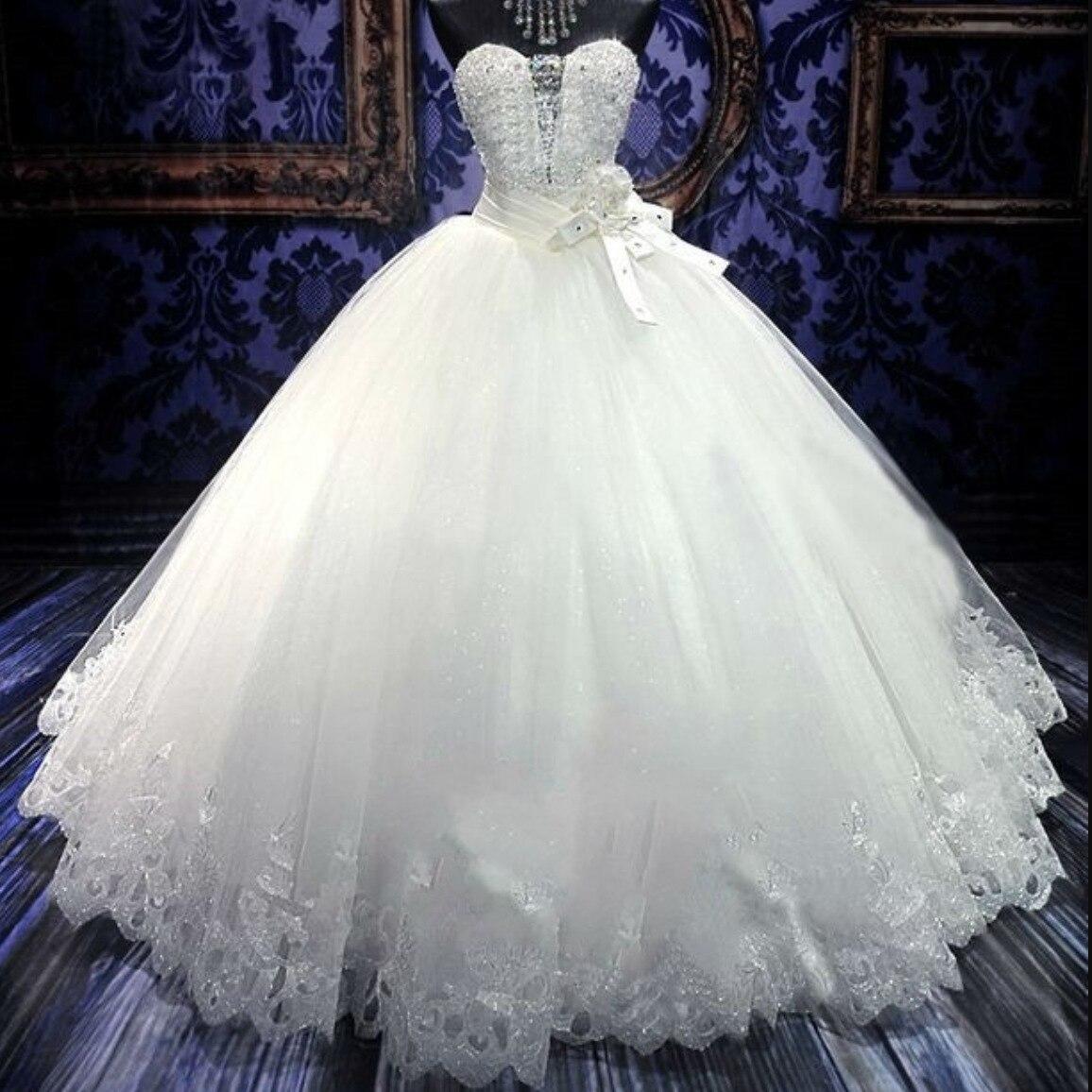 Hot Selling Large Puls Size Wedding Dress European  American Minimalist Ube Top Wedding Dress