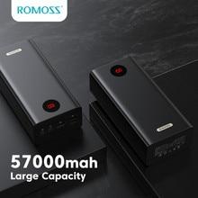 ROMOSS PEA57 Power Bank 57000 мАч 18 Вт PD КК 3,0 Quick Charge 57000 мАч, блок питания Type-C Внешнее зарядное устройство Power Bank для iPhone Huawei