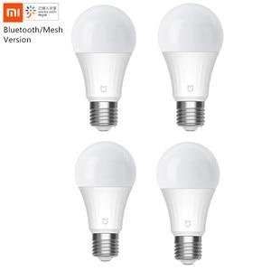 Image 1 - شاومي Mijia LED الذكية لمبة 5 واط نسخة شبكة بلوتوث التي تسيطر عليها صوت 2700 6500K تعديل درجة حرارة اللون الذكية LED لمبة