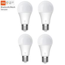 Xiaomi Mijia LED inteligentna żarówka 5W wersja z siatką Bluetooth sterowana głosem 2700 6500K regulowana temperatura barwowa inteligentna żarówka LED
