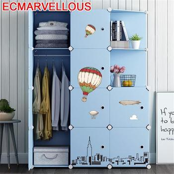 Penderie De Almacenamiento Rangement Chambre Armario Tela Home Dormitorio Cabinet Guarda Roupa Closet Bedroom Furniture Wardrobe