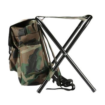 Fishing Chair Backpack Outdoor Folding Camping Stool Bag Portable Backpack Cooler Insulated Picnic Bag Hiking Beach Seat Table folding portable outdoor fishing chair backpack playing climbing outdoor portable folding stool backpack high quality