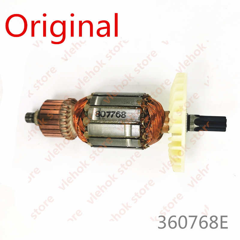 220V-230V  Genuine Armature Rotor for Hitachi DH30PC2 360768E Rotary Hammer Power Tool Accessories Electric tools part
