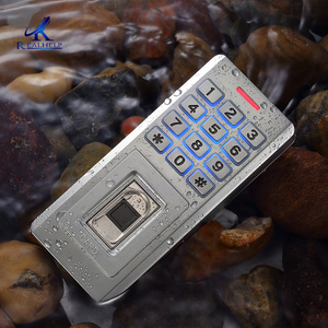 Высокое качество Система доступа считыватель отпечатков пальцев Wiegand26 считыватель отпечатков пальцев система контроля доступа карты IP68 Вс...