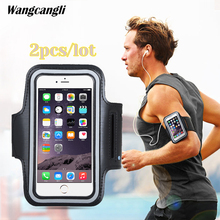 Armband For Iphone 7 Case hand bag Arm Cell phone Holder For your mobile Sports Pouch Universal movement 5.5 inch phone armband цена в Москве и Питере