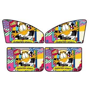 Image 5 - 1 шт. солнцезащитный чехол для окна автомобиля мультяшный автомобильный занавес для окна Kawaii Магнитный боковой солнцезащитный занавес универсальный боковой занавес для окна