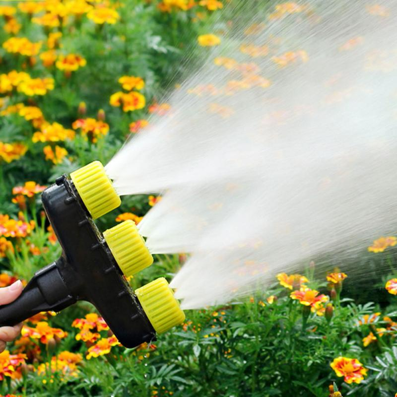 Garden Watering Greenhouse Agriculture Accessory Plastic Adjustable Atomizing Sprayer Yard Fog Misting Nozzle Outdoor Lawn-1